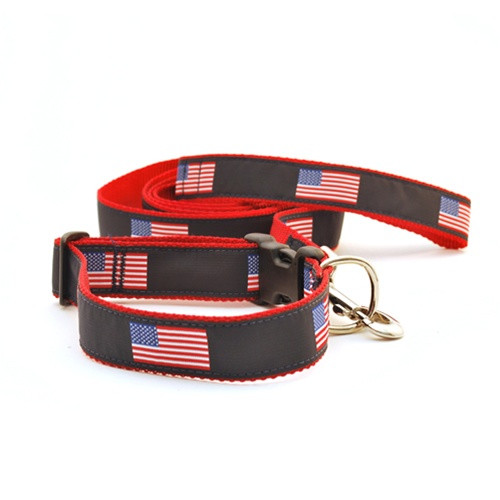 American Flag (Wide Collar)