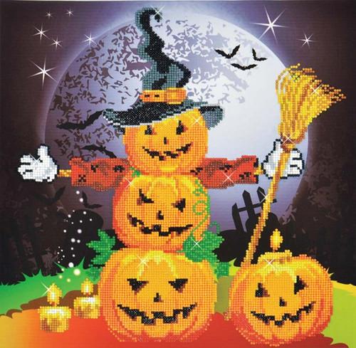 Diamond Dotz Halloween Scarecrow