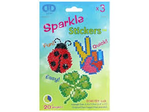 Diamond Dotz Stickers Luck