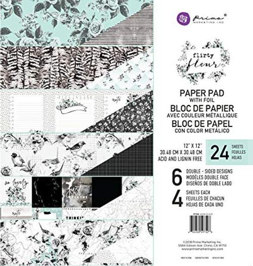 Prima Flirty Fleur Paper Pad
