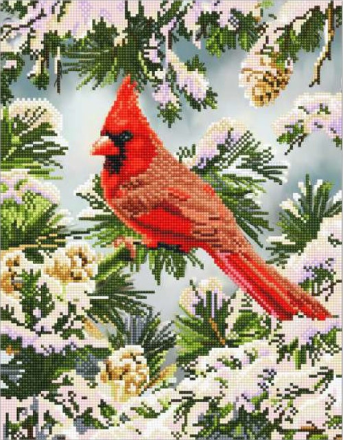 Diamond Dotz Good Fortune Cardinal