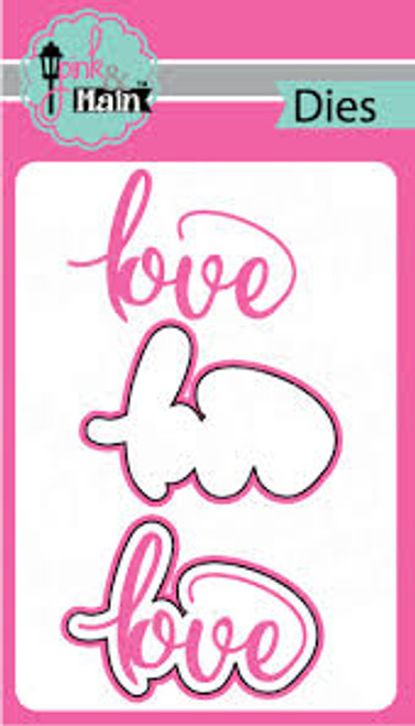 Pink & Main Love Die Set