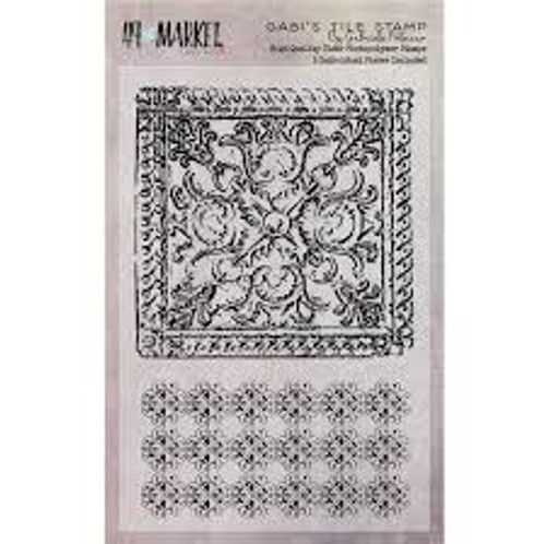 49 & Market Gabi's Tile Stamp Set