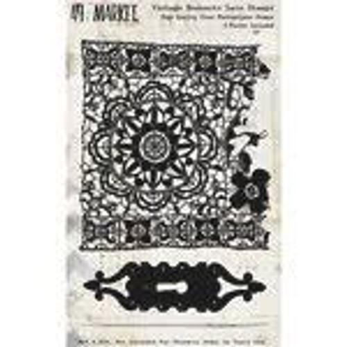 49 & Market Vintage Remnants Lace Stamps
