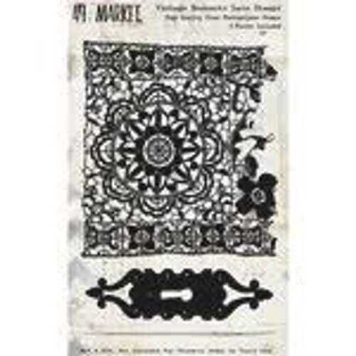 49 and Market Vintage Remnants Lace Stamps