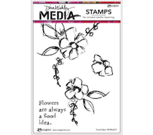 Dina Wakley Good Idea Stamps