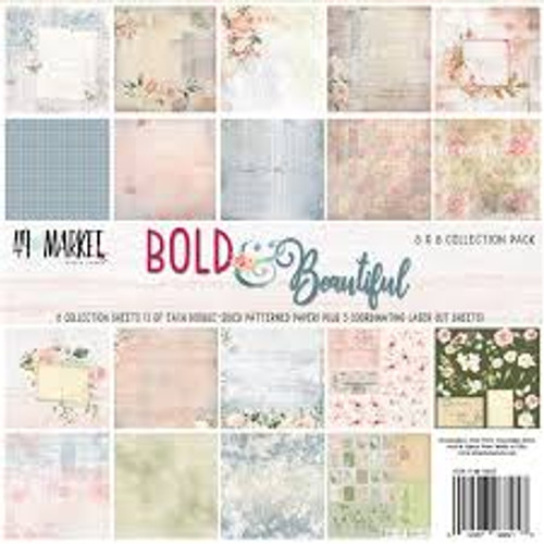 "49 and Market Bold & Beautiful 12"" x 12"" Collection"