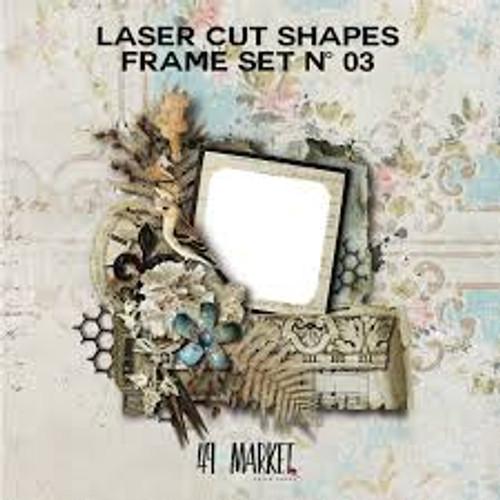 49 and Market Laser Cut Shapes Frame Set #3