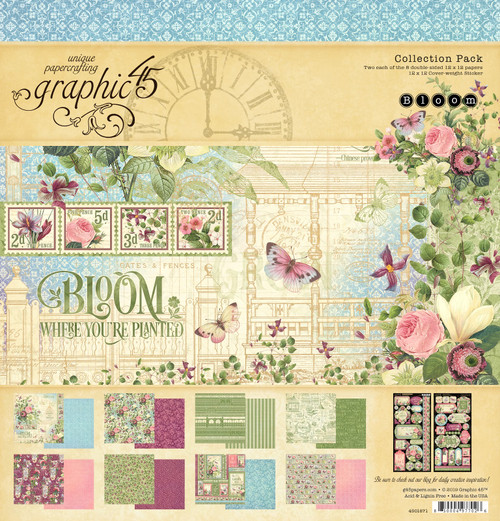 Graphic 45 Bloom Collection Pack 12 x 12