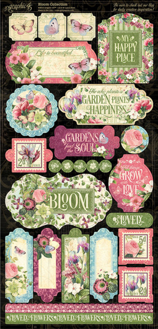 FGraphic 45 Bloom Collection Stickers