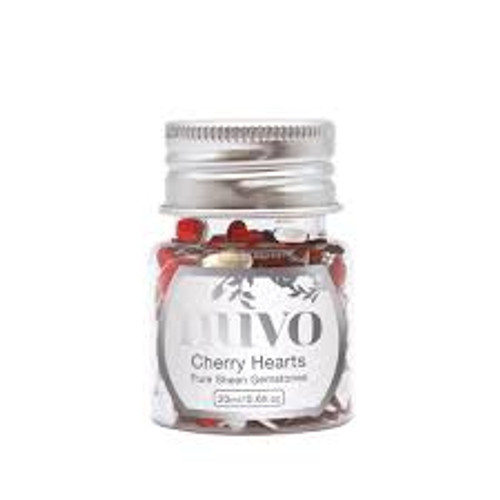 Nuvo Gemstones Cherry Hearts