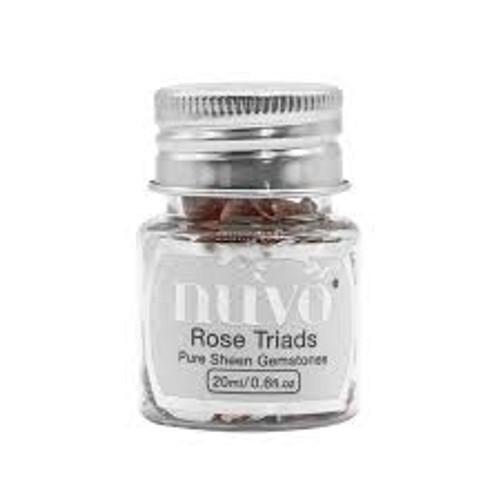Nuvo Gemstones Rose Triads