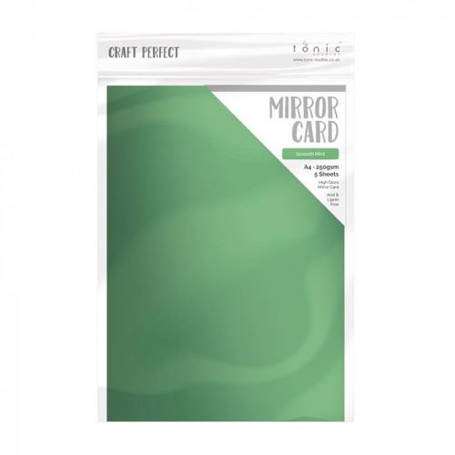Tonic Craft Perfect Mirror Card Smooth Mint 8.5 x 11