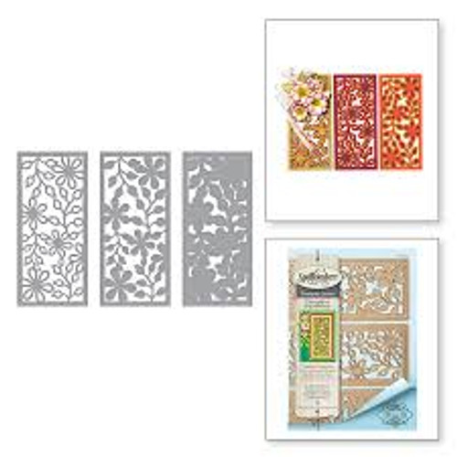 Spellbinders Thoughtful Expressions Layers of Floral Die Set