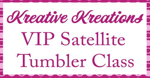 Satellite Tumbler Class #3