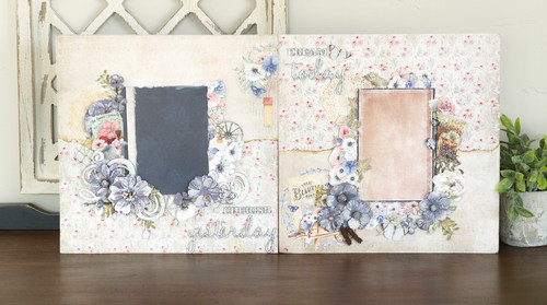 """""""Cherish and Dream"""" Two-Page Layout  (Class Kit)"""