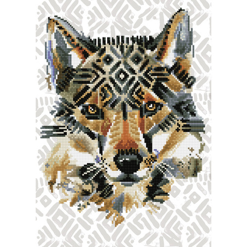 Diamond Dotz Dreamtime Wolf
