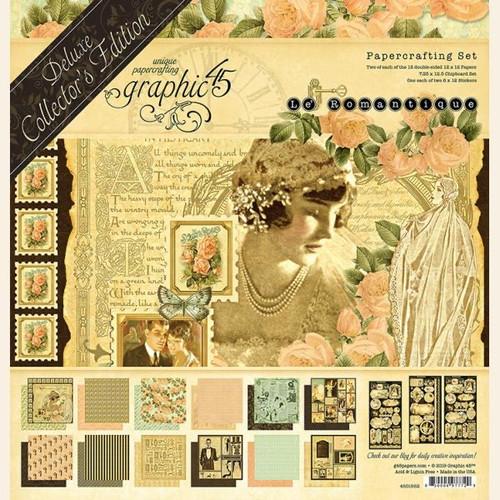 "Graphic 45 Le Romantique 12"" x 12"" Deluxe Collector's Edition"