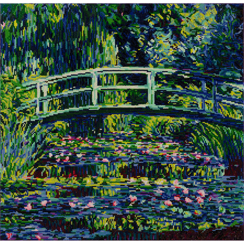 Diamond Dotz Lily Pond (Monet)
