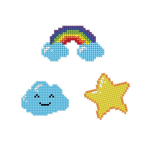 Diamond Dotz Dotzies Sky Stickers