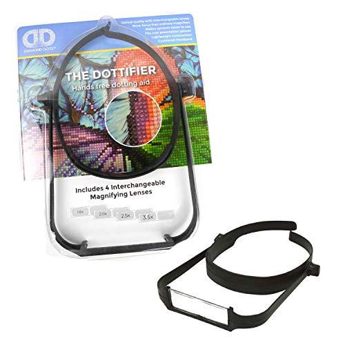 Diamond Dotz Dottifier Hands-Free Magnifier Dotting Aid