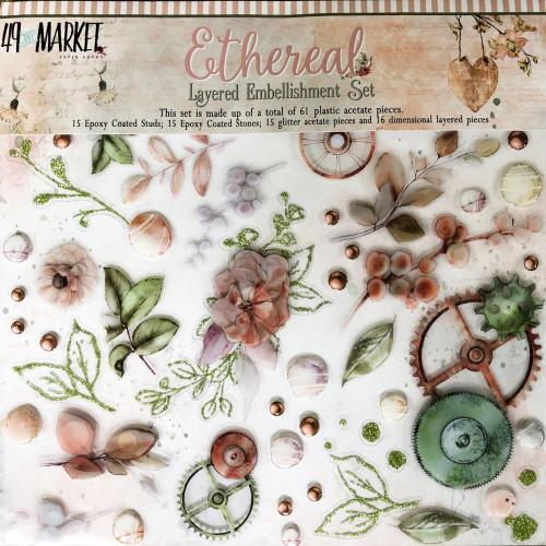49 and Market Ethereal Layered Embellishment