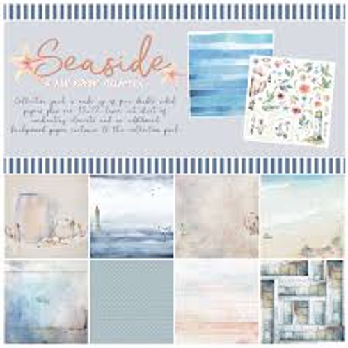"49 and Market Seaside 12"" x 12"" Mini Collection Pack"