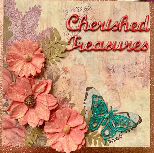 Kreative Kreations Cherished Treasures Tag & Pocket Album Kit Featuring Stamperia