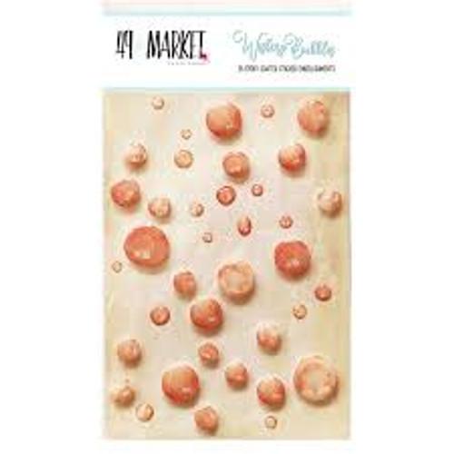 49 and Market Orange Crush Wishing Bubbles