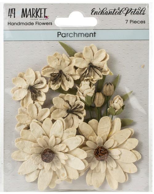 49 and Market Enchanted Petals Parchment Flowers