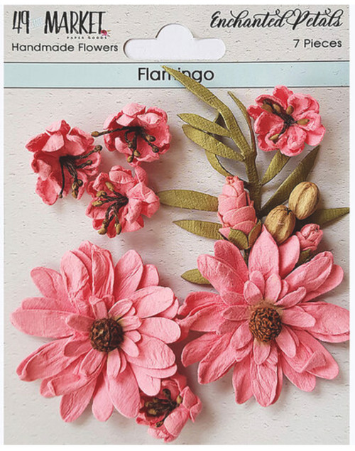 49 and Market Enchanted Petals Flamingo Flowers
