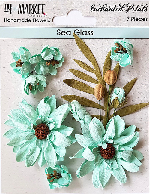 49 and Market Enchanted Petals Sea Glass  Flowers