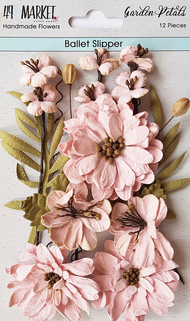 49 and Market Garden Petals Ballet Slipper Flowers