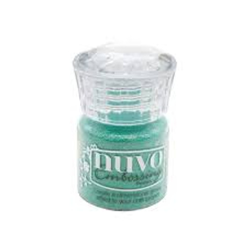 Nuvo Embossing Powder Turquoise Lagoon