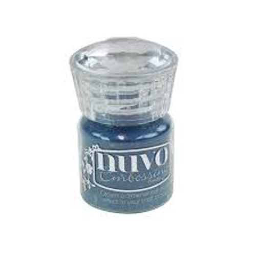Nuvo Embossing Powder Blue Odyssey