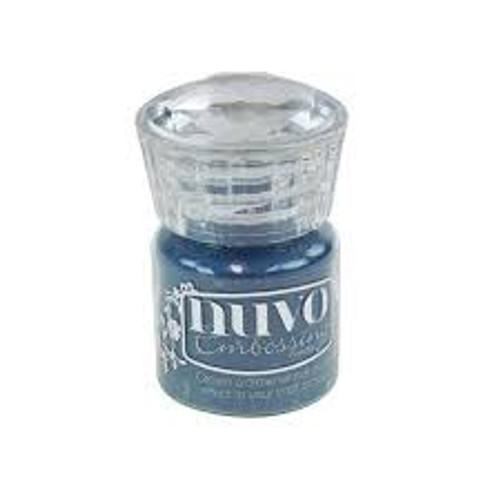 Nuvo Embossing Powder Blue Odyssey
