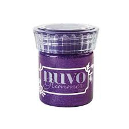 Nuvo Glimmer Paste Amethyst Purple