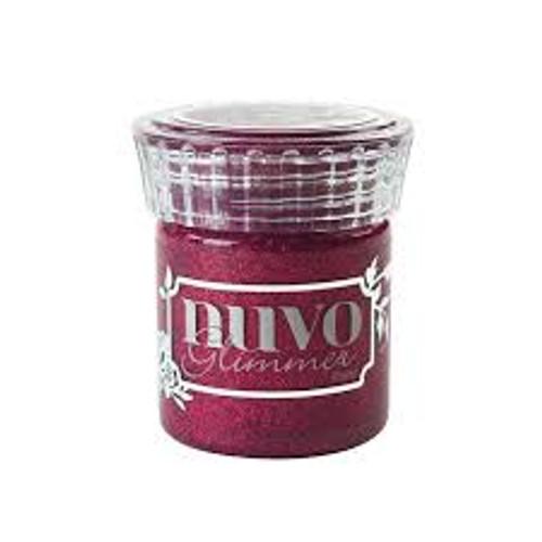 Nuvo Glimmer Paste Raspberry Rhodolite