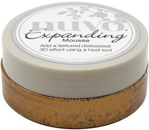 Nuvo Embellishment Expanding Mousse Mustard Seed