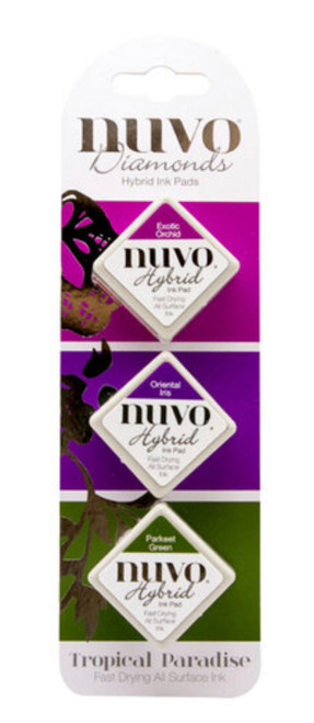 Nuvo Hybrid Ink Pads Set Tropical Paradise