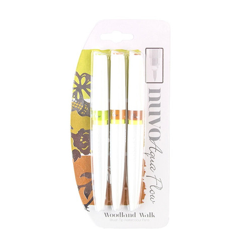 Nuvo Aqua Flow Pens Woodland Walk