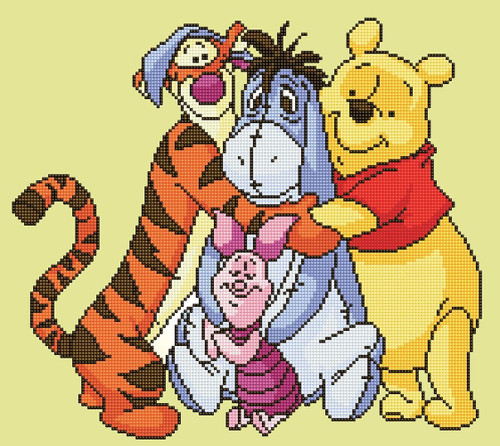 Diamond Dotz Disney Winnie the Pooh and Friends