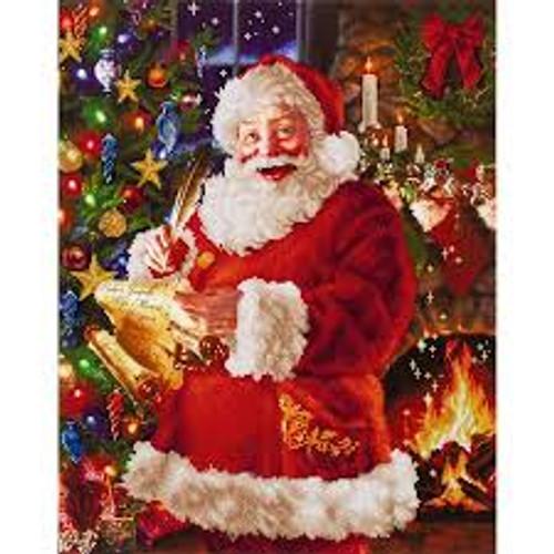 Diamond Dotz Santa's List