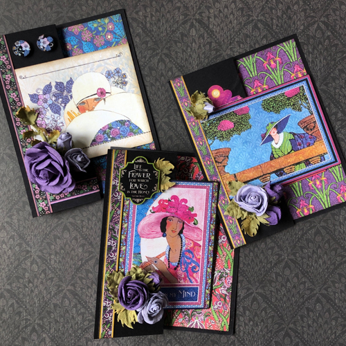 Graphic 45 2020 Fashion Forward Monthly Card Kit Volume 2
