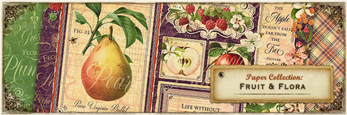 Graphic 45 Fruit and Flora Chipboard
