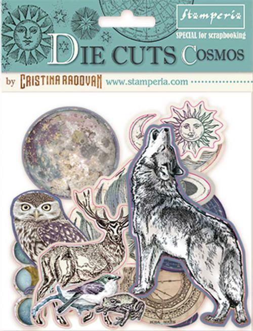 Stamperia Die Cuts Cosmos