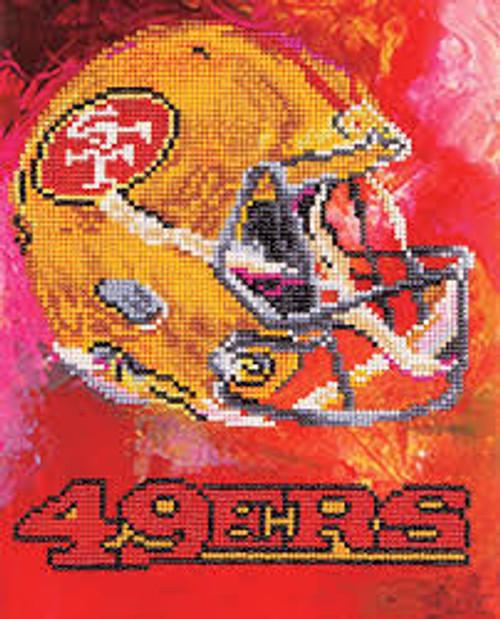 Diamond Art Diamond Dotz NFL Team San Francisco 49ers