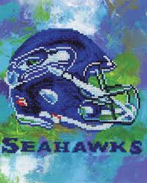 Diamond Art Diamond Dotz NFL Team Seattle Seahawks