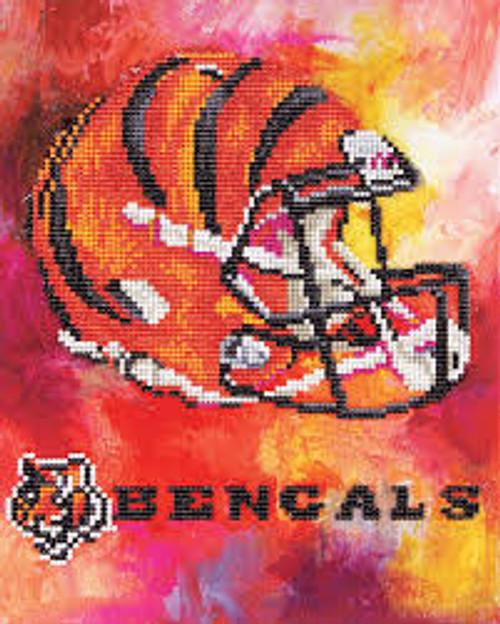 Diamond Art Diamond Dotz NFL Team Cincinnati Bengals