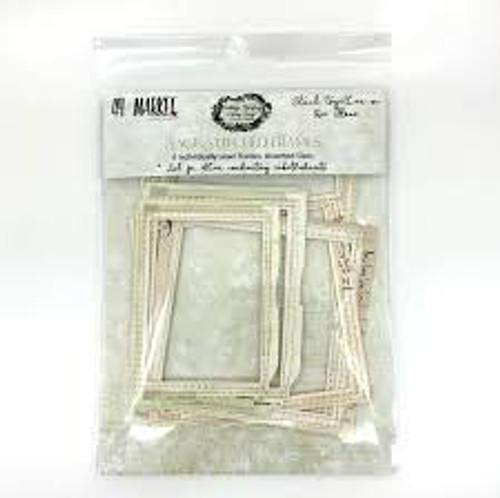 49 and Market Vintage Artistry Sage Stitch Frames